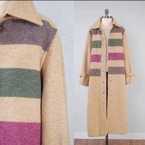 Jackets & Blazers - Vintage 70s Hudson Bay style wool coat!